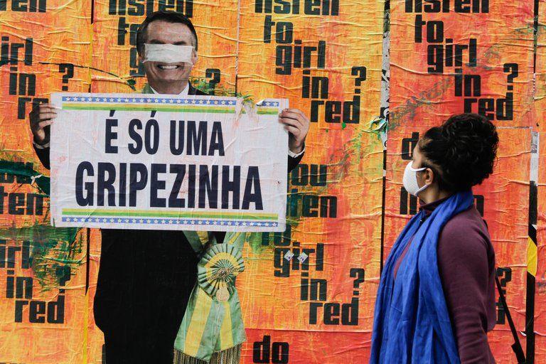 Bolsonaro afirma que vacuna contra Covid-19