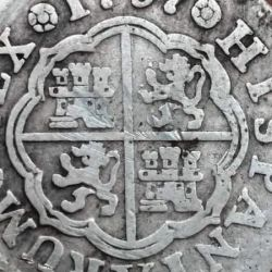 Lo más interesante son las macuquinas, las primeras monedas que se hicieron en América.