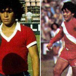 Diego Armando Maradona en Argentinos Juniors.