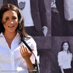 Meghan Markle homenajeo a Lady Di con una particular elección