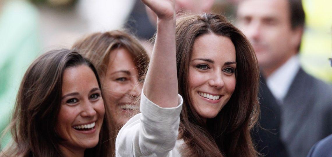 Kate y Pippa Middleton y su semana a pura celebración