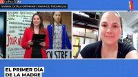 Vanina Catalá Ortmann, mamá de trigemelas, en diálogo con reperfilar