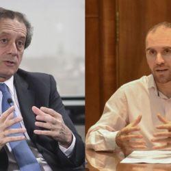 Miguel Pesce y Martín Guzmán.
