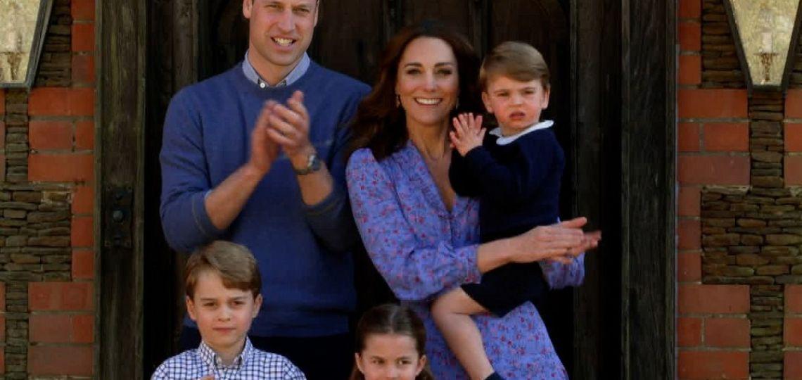 Enterate por qué Kate Middleton y William siempre eligen el azul
