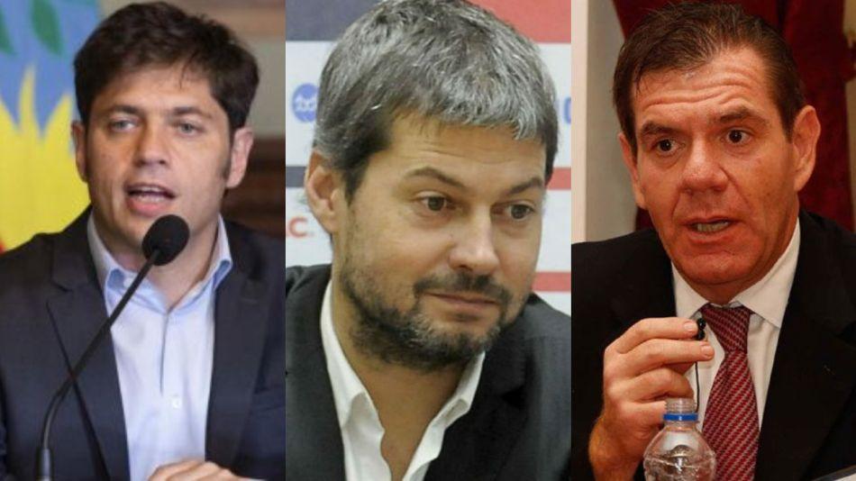 Matías Lammens, Axel Kicillof, Guillermo Montenegro