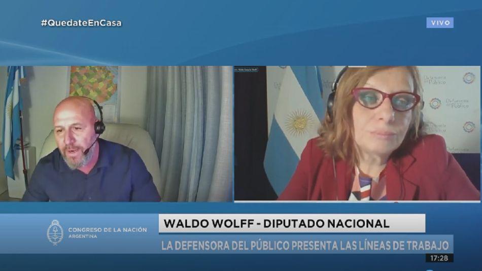 Waldo Wolff, Mirian Lewin