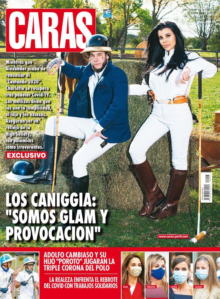 """Charlotte y Alex Caniggia: """"Somos glam y provocación"""""""