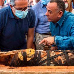 Este nuevo descubrimiento tuvo lugar en el mismo lugar en el que hace dos semanas encontraron otras 59 tumbas con momias en perfecto estado.