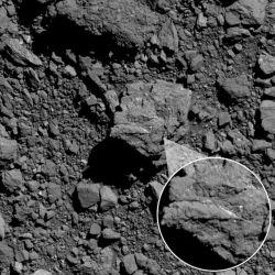 El asteroide Bennu se encuentra a unos 322.000 kilómetros de la Tierra.