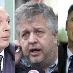 El falso abogado Marcelo D´Alessio, el fiscal federal Carlos Stornelli y el periodista Daniel Santoro.
