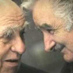 Julio Sanguinetti y Pepe Mujica.
