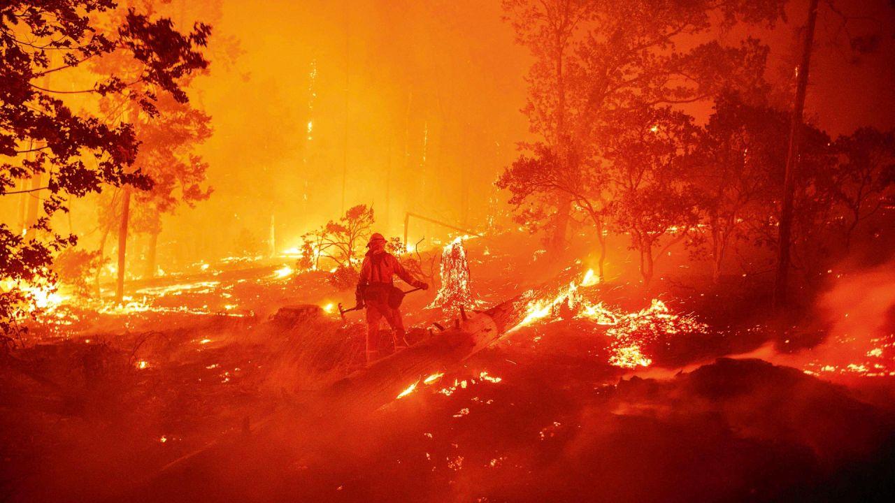 Incendios Argentina   Foto:Cedoc