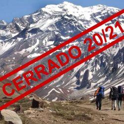 El cerro Aconcagua no se habilitará para ascensos durante la temporada 2020/21, debido al coronavirus.