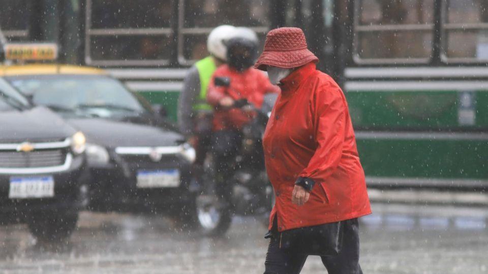 Lluvias y tormentas alerta meteorologico Buenos Aires