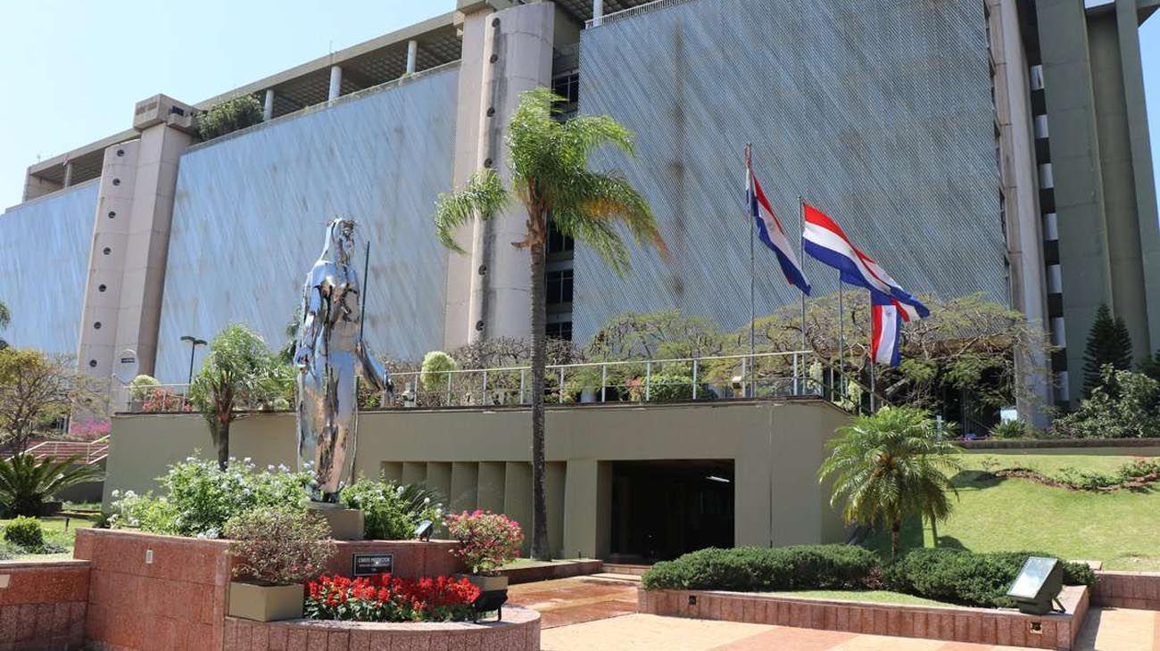 Sede del Banco central de Paraguay
