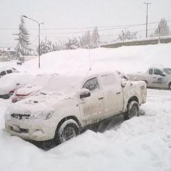 La acumulación de nieve en las cotas altas de la cordillera se mantiene deficitaria.