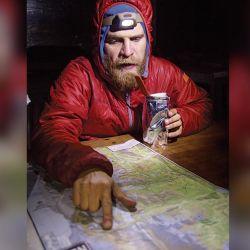 Yoda Werner, además de amigo, es una gran guía de montaña.