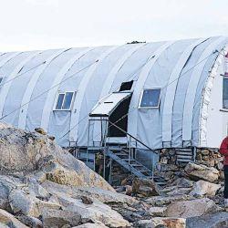 Llegar al refugio chileno Gorra Blanca es una gran satisfacción y tranquilidad.