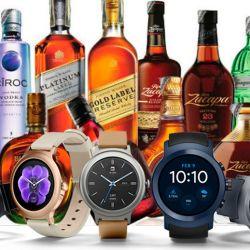 Bebidas y relojes impostados   Foto:cedoc