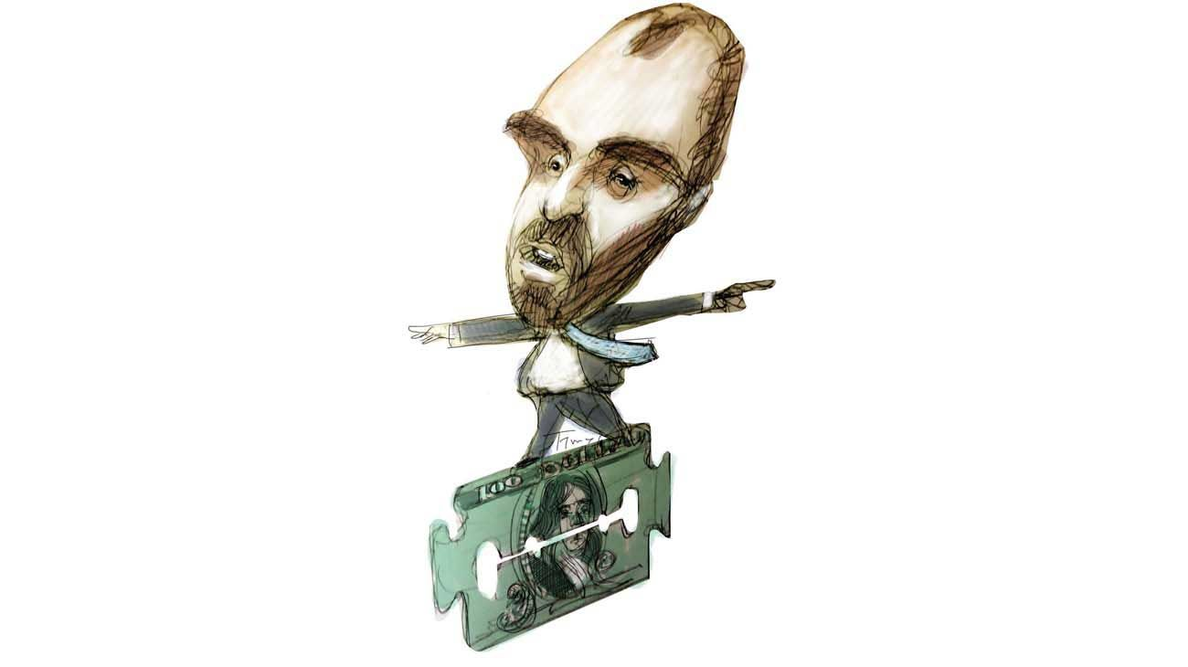Equilibrio filoso. Martín Guzmán.