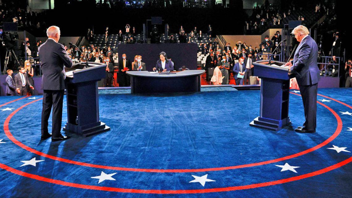 US presidential debate.