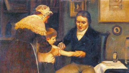 Evolución. El médico inglés Edward Jenner, el creador de la primera vacuna, La Sabin, contra la polio, enfermedad que, en breve, podría desaparecer.
