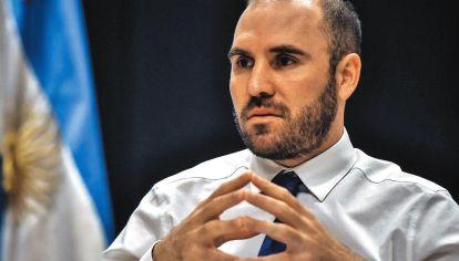 Ministro. Guzmán busca reactivar la actividad económica.