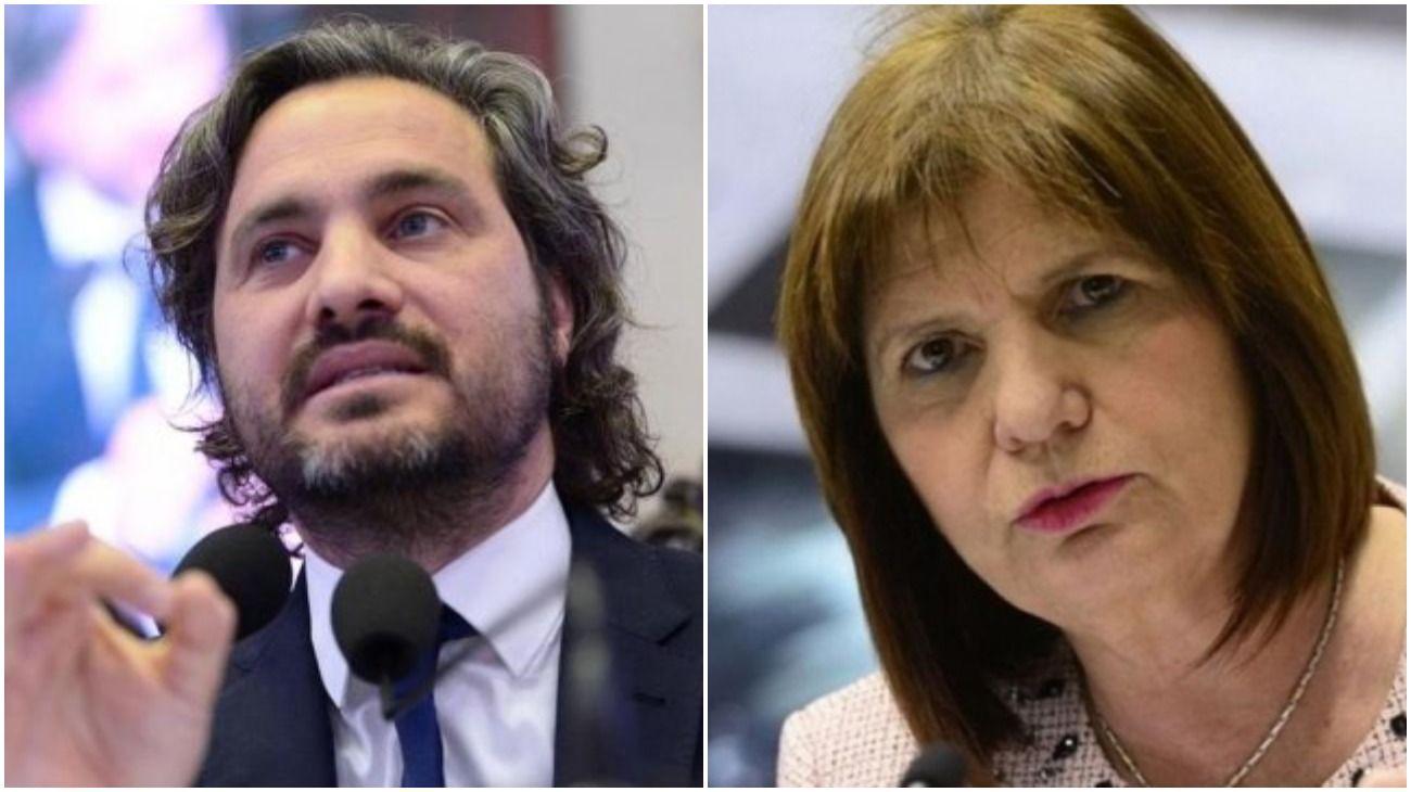 El jefe de Gabinete, Santiago Cafiero, se cruzó por Twitter con la presidenta del PRO, Patricia Bullrich.