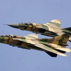Debido al radar de menor alcance del MiG, el piloto iraquí no pudo reaccionar a tiempo.