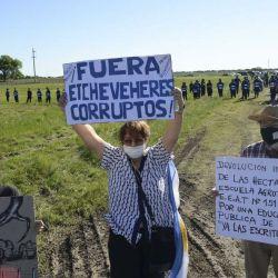 Caso Etcevehere Marcha gente de Grabois en Entre Rios Proyecto Argtigas | Foto:Pablo Cuarterolo