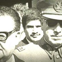 Salvador Allende/Augusto Pinochet.