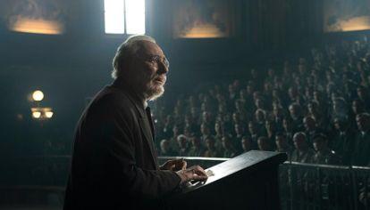 Escena de la película Mientras dure la guerra