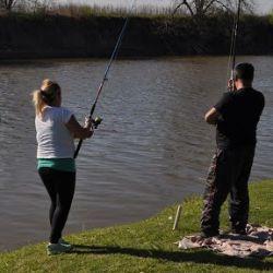Los amantes de la pesca deportiva tienen en el río Salado a su gran aliado.