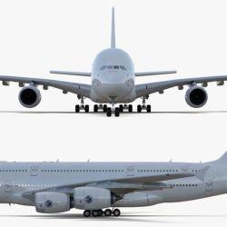 Para superar el éxito del Airbus A380, la compañía pensó en la versión 900, que planteaba una extensión de su estructura para que alcanzara los 79,4 metros de largo.