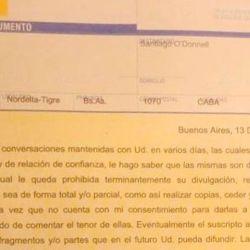 La carta documento de Mariano Macri a Santiago O'Donnell | Foto:Cedoc.