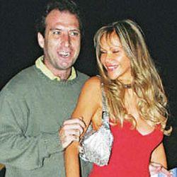 Mariano junto a Marie France cuando estaban casados | Foto:cedoc