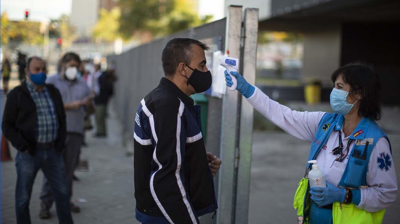 España supera el millón de casos de coronavirus.