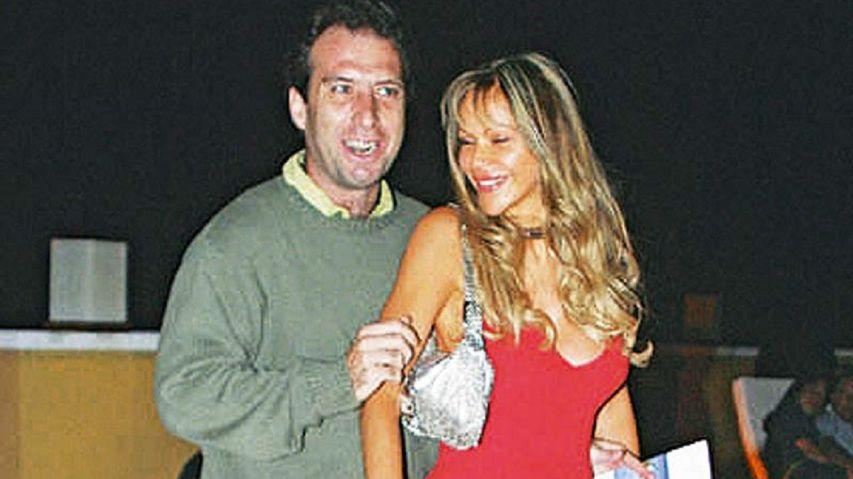 Mariano junto a Marie France cuando estaban casados