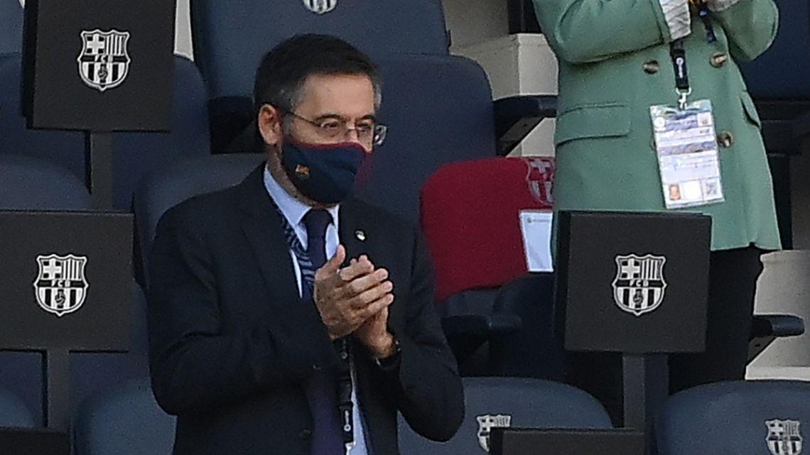Barcelona FC president Josep Maria Bartomeu.