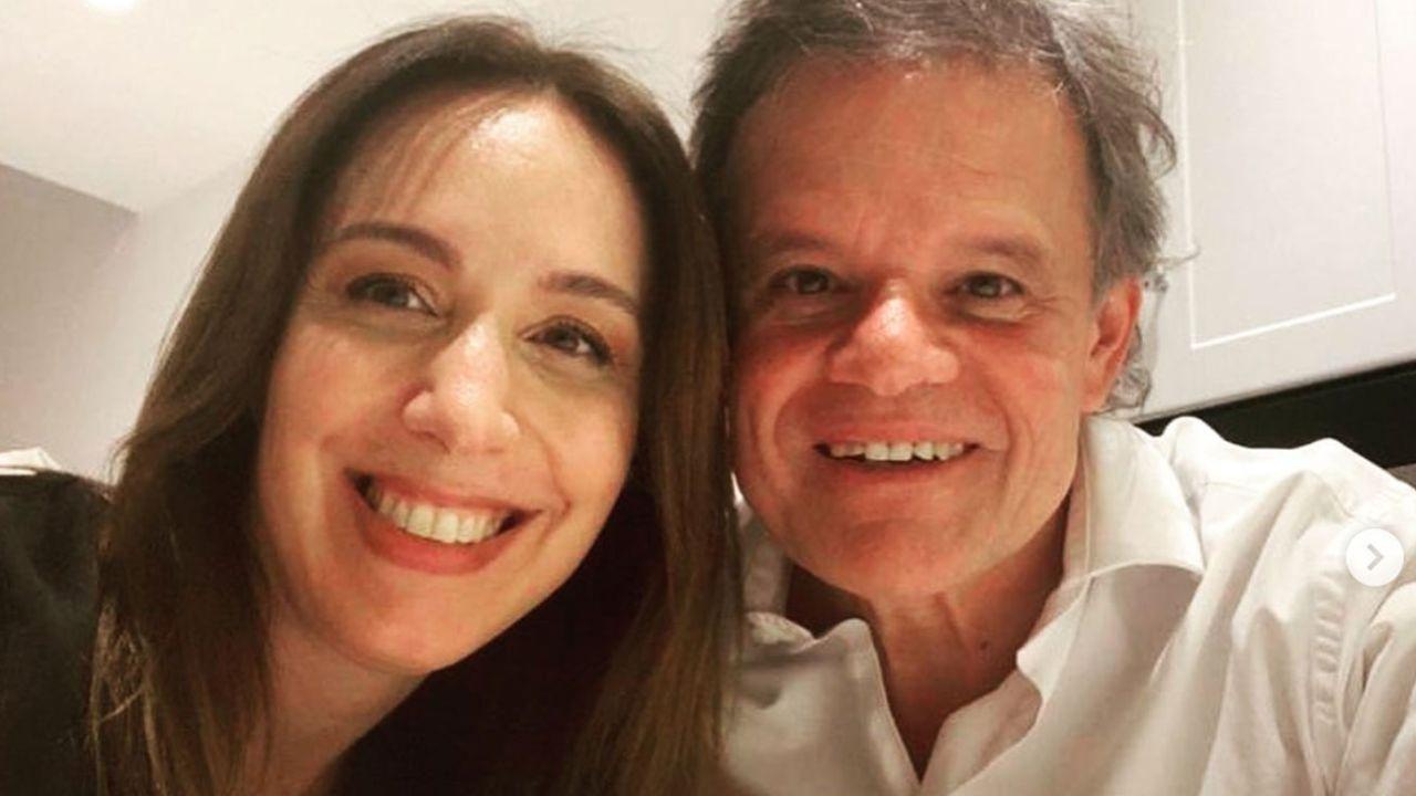 María Eugenia Vidal a Enrique Sacco | Foto:instagram