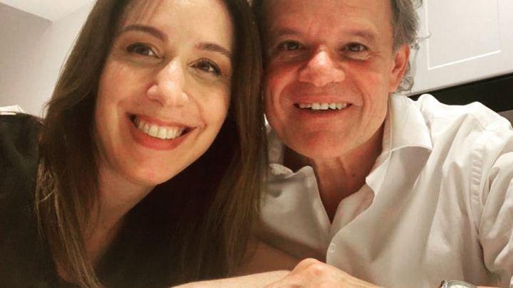 """María Eugenia Vidal a Quique Sacco en el día de su cumpleaños: """"Sos todo lo que está bien"""""""