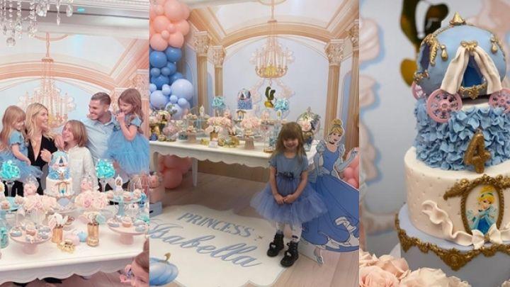 FOTOS| Toda la intimidad del lujoso cumpleaños de Isabella Icardi organizado por Wanda Nara