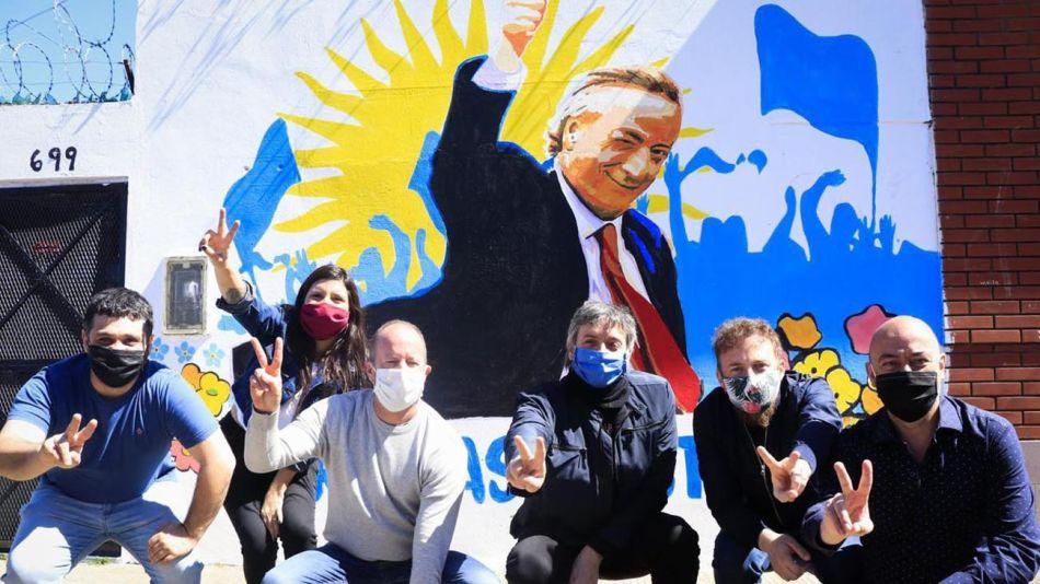 mural  figura de Néstor Kirchner 20201027