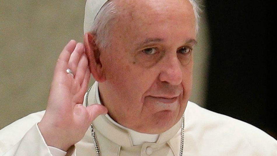 Papa Francisco, jefe de la Iglesia Católica.
