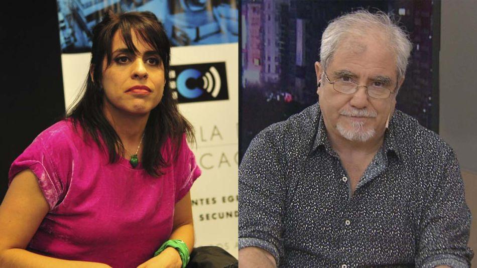 Victoria Donda y Osvaldo Bazán 2001027