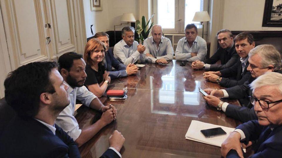mesa de Juntos por el Cambio 20201027