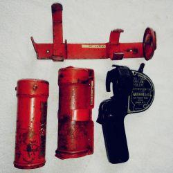 Cómo funcionaba la pistola Antifyre para combatir incendios.
