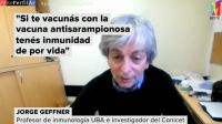 Reperfilar dialogó con Jorge Geffner, profesor de Inmunología e investigador del CONICET