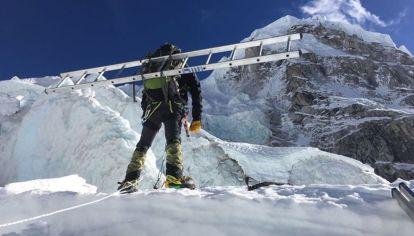 Cascada Khumbu, Everest