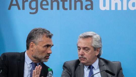 Alejandro Vanolli y Alberto Fernández